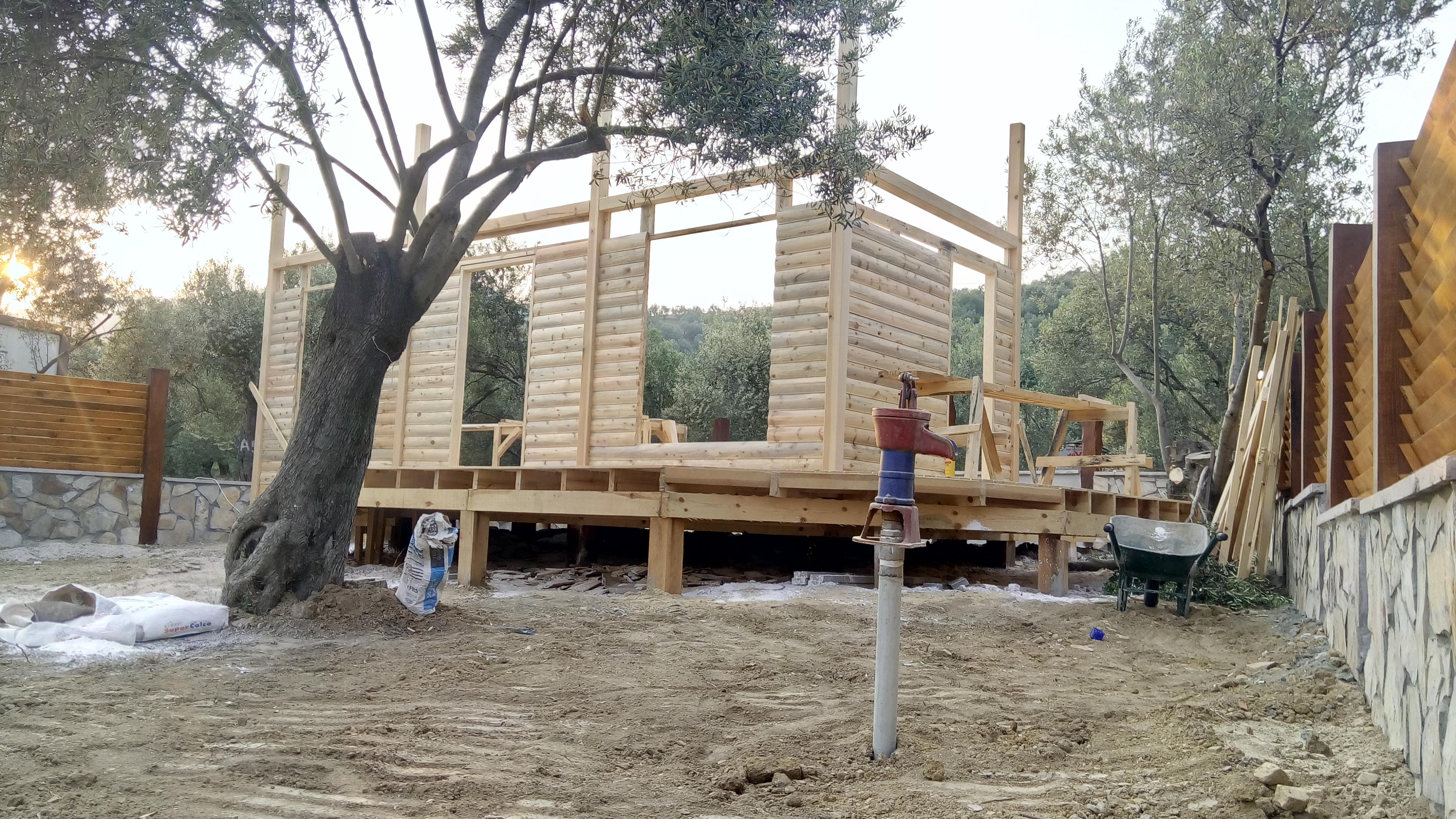 Yeni yaşam alanları ahşap evler