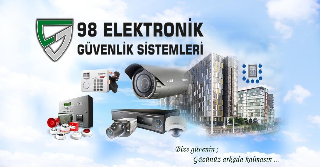 98 Elektronik Güvenlik Sistemleri